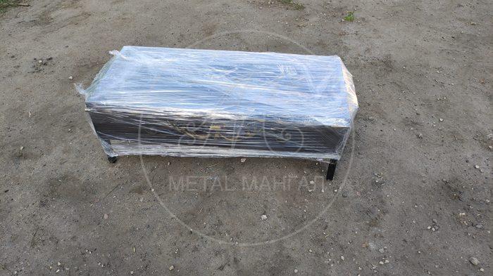Мангал разборный 80 х 35 сталь 4 мм