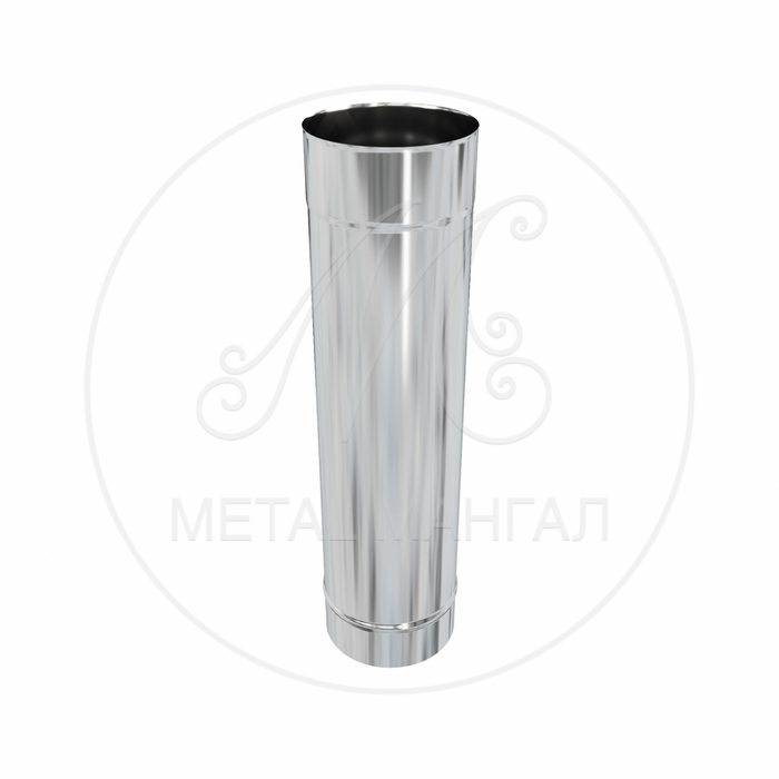 Дымоход ф 250 1м н 0,5 из нержавеющей стали AISI 430/0,5мм