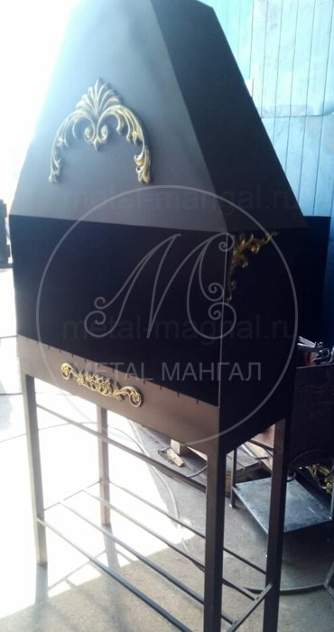 Мангал профессиональный 1200х450