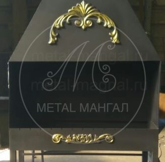 Мангал профессиональный 1000 х 400