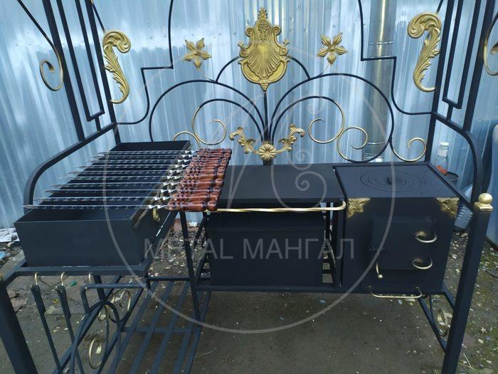 """Мангал с крышей """"Престиж"""""""