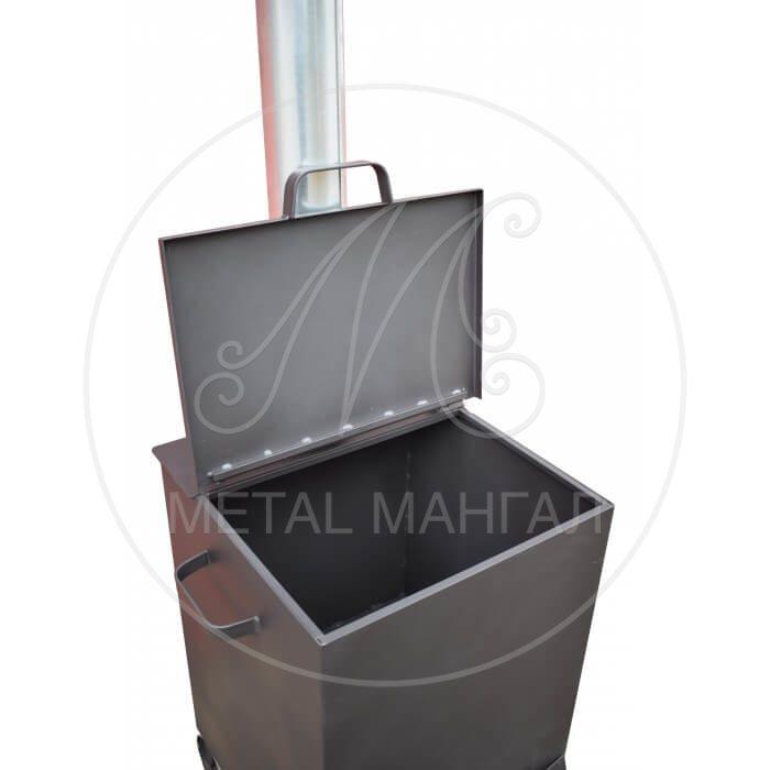 """Печь для мусора """"Малыш"""" объем 140 литров"""