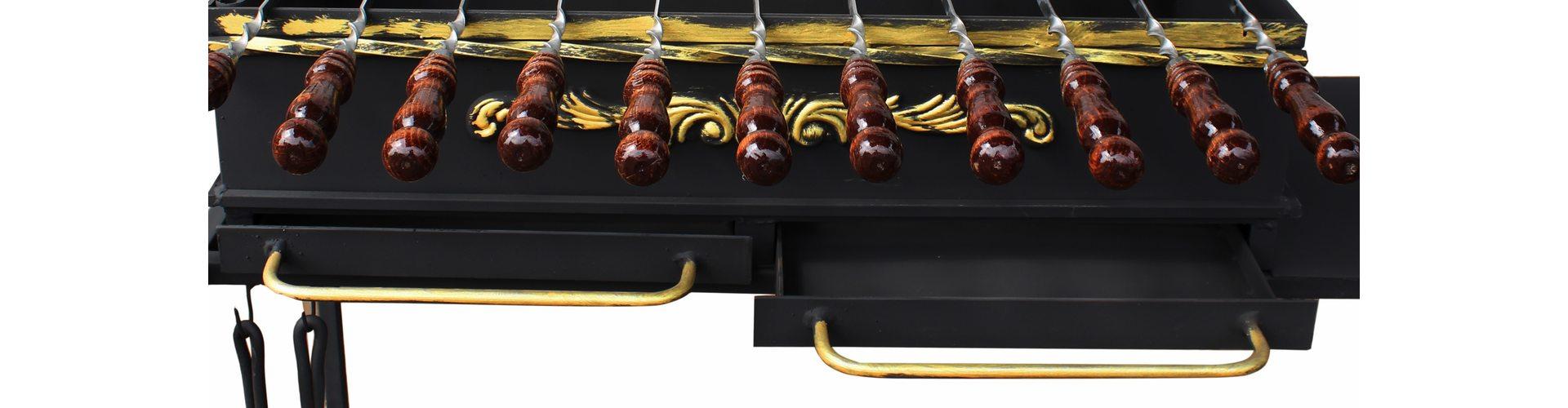 Что такое зольники или ящики для жаровни? Смотрим и узнаем все о мангалах!
