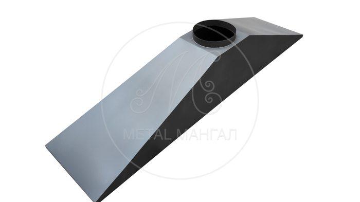 Зонт вытяжной подвесной 2000 х 600
