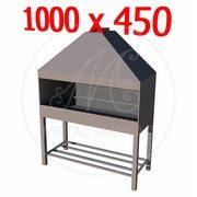 Профессиональный мангал 1000 х 450